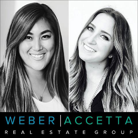 Weber Accetta Headshot and Logo